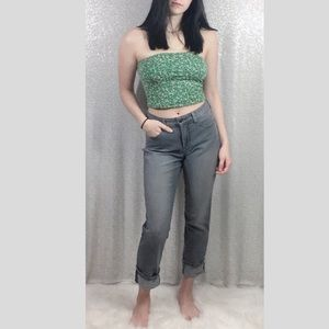 Not Your Daughters Boyfriend Wide Cuff Jeans